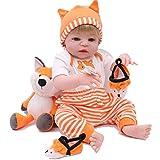 CYdoll 22' Silikon Körper Reborn Babies Puppen Rebirth Baby Puppen Spielzeug Kind Bebe Reborn...