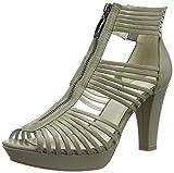 GERRY WEBER Shoes Damen Ella 16 Offene Sandalen, Beige (lontra 302), 40 EU