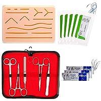 Crazyfly - Kit de sutura todo incluido, dispositivo de entrenamiento perfecto para desarrollar y refinar técnicas de sutura
