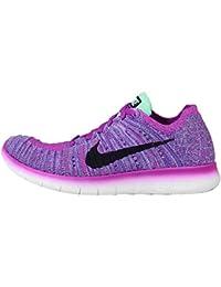 Nike Free Rn Flyknit (Gs), Scarpe da Corsa Bambina