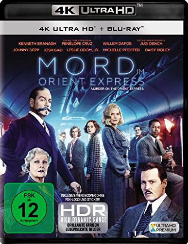 Mord im Orient Express - Ultra HD Blu-ray [4k + Blu-ray Disc]