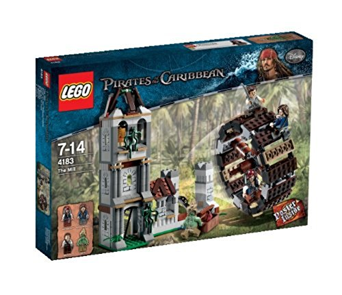 flying dutchman lego LEGO Pirates of the Caribbean 4183 - Duell bei der Mühle