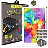 2 x Pack - GBOS Samsung Galaxy Tab 4, 10,1 pouces (SM-T530 / T531 / T535) Protecteur d'écran en verre trempé Véritable Pour Samsung Galaxy Tab 4, 10.1 [HD, 9H Dureté, Crystal Clear, Bubble gratuit]