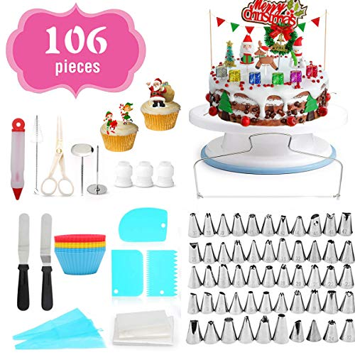 Cake Decorating Equipment, 106pc...