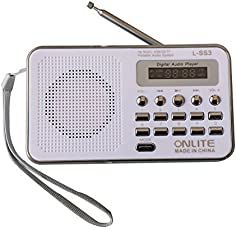 Glive's L-SS3 Portable Mini Speaker FM Radio Player With 3.5mm Jack AUX , Pendrive , Memory Card Supported