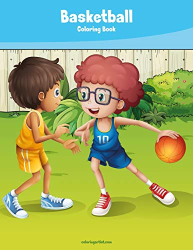 Basketball Coloring Book 1: Volume 1 por Nick Snels