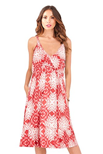 Pistachio - Robe - Dos nu - Sans Manche - Femme rouge Red red