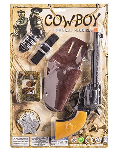 JUINSA- Pistola Vaquero con cartuchera, (95383.0)