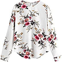 DAY8 Femme Vetement t Shirt Ete Blouse Femme Chic Soiree Haut Femme Grande  Taille Printemps Vetement 4631e72660df