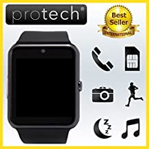 PROWATCH PLUS - Smartwatch con Funzione Telefono compatibile con Android e Iphone ORIGINALE di PROTECH ITALIA - AZIENDA ITALIANA - SIAMO gli UNICI a fornire gli Smartwatch con ISTRUZIONI TUTORIAL VIDEO in ITALIANO e GARANZIA 24 MESI - Smartwatch orologio touch intelligente PW1 - Compatibile con Android IOS iPhone 7 7 Plus, 6 plus S, 6S, 6plus, 6, 5S, 5C, 5, 4S, 4, Android Samsung Galaxy 4, Note 3, Note 2, S5, S4, S3, HTC, BlackBerry, LG, Sony, Huawei