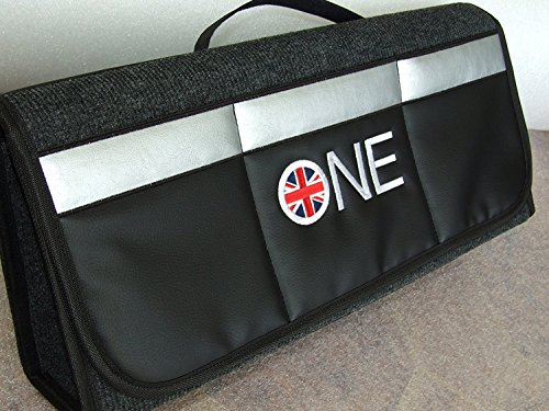 Bolsa de almacenamiento para maletero, apta para todos los modelos de Cooper, incluye juego de pegatinas de recordatorio de cambio de aceite (2 unidades)