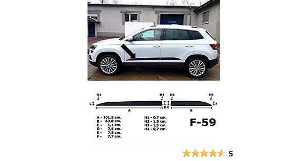 Spangenberg Seitenschutzleisten Schwarz Passend Für Skoda Karoq Suv Ab 07 2017 F59 3700059 Auto
