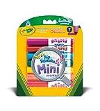 Crayola 5083370 - Filzstifte, Mini, 7 Stück