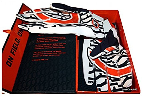 Nike Vapor Fly Chicago Bears Team Authentic Series Gloves Size Med
