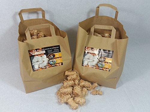 2,5 kg Zündfüchse Bio Holzwolle Anzünder