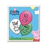 Peppa Pig - 8 globos (Verbeten...