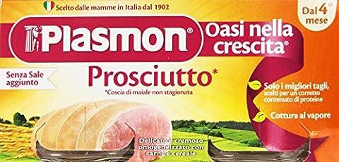 Plasmon gekochter Schinken ab 4. Monat 2 x 80 g Prosciutto Cotto Omogeneizzato