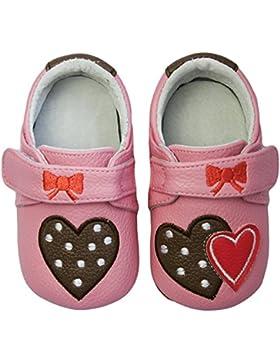 Rose & Chocolat RCM Polka Lolly Baby Mädchen Krabbelschuhe & Puschen Sneaker