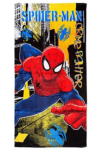 Spiderman Serviette de plage/Drap de bain 70x 140cm, original sous licence