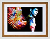 PHOTO SPACE ANGEL DAWN FIELDING FRAMED ART PRINT POSTER F12X10434