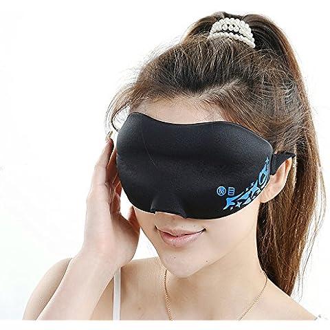 ccbetter Eye Mask/antifaz para dormir para hombres y mujeres–contorneado y cómodo Eye Patch; Cambio Trabajadores y viajar