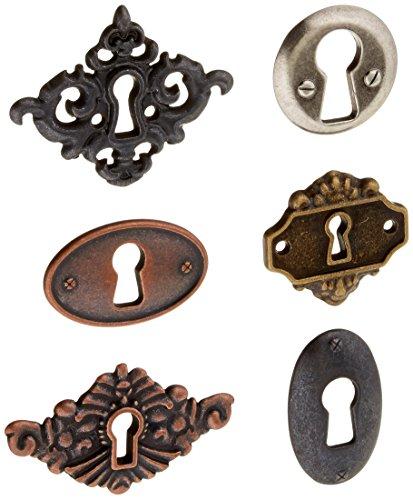 Prima Marketing Junkyard Ergebnisse Metall Embellishments-Key Löcher