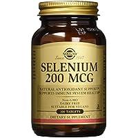 Solgar Selenium 200 mcg Tablets, 100 Tabs 200 mcg