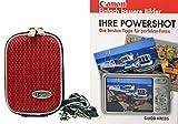 Foto Kamera Tasche HARDBOX Set mit Fotobuch Ihre Canon Powershot