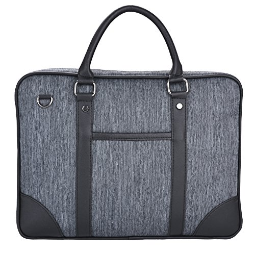 Coofit Sac à main homme Porte-documents Oxford Sacoche Business homme d'ordinateur Sac Bandoulière Messenger Mens