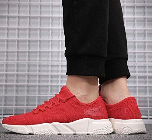 Scarpe da calcio scarpe da uomo Scarpe da ginnastica casual da scarpe da ginnastica casuale 8290 red