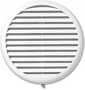 Autogyre - Grille Clipser Ronde Diametre 80/125Mm Moustiquaire Blanc