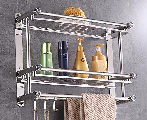 Mensole Da Bagno In Acciaio : Accessori per il bagno in acciaio inox filo d angolo mensole
