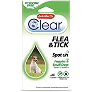 Bob Martin Clear Pesticide Free Spot On Flea Small Dog 12WK