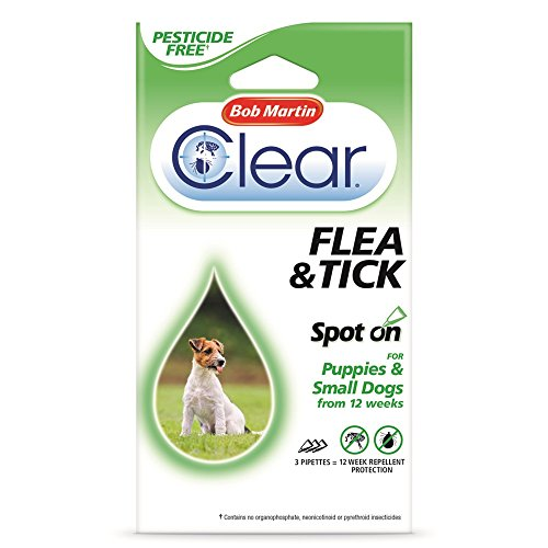 bob-martin-spot-on-ticks-fleas-for-small-dogs-puppies-12-weeks-supply