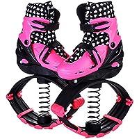 Saltos De Rebote Bounce Outdoor Sports Fitness Shoes Botas De Saltos Unisex,Pink,S