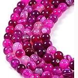 AqBeadsUk Semi-Precious Crystal Energy Stones with Natural Healing Power - Premium Genuine Rose