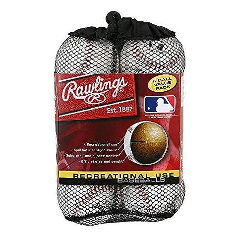 Rawlings OLB3 Official League Recreational Play Baseball Bundles by aSavings