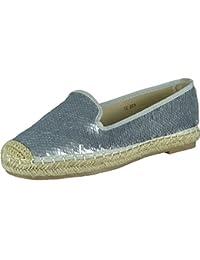 Aux femmes Casual Espadrilles Pompes Chaussures Taille 3-8
