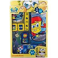 Indeca PSP/PS Vita Combination Pack - Sponge Bob - accesorios de juegos de pc (Azul, Amarillo, Alámbrico)