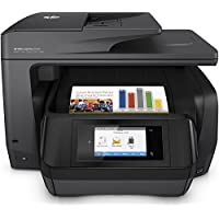 hp officejet pro 8728 (printer, setup + XL hp ink bundle)
