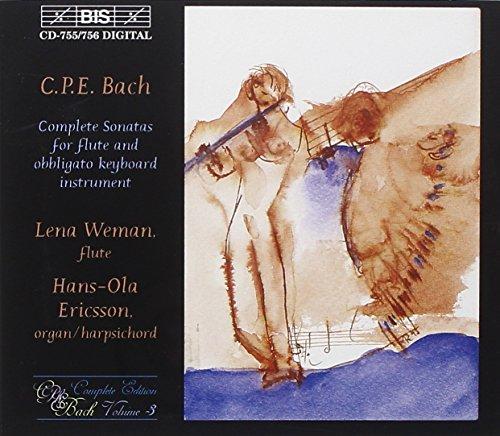 Sonaten für Flöte und obligates Cembalo Vol. 3