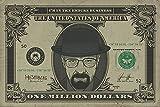 Empire Merchandising 668721 Breaking Bad, Heisenberg con símbolo del dólar, Drama Humor de televisor de póster de la Serie de Cartel DE, 91,5 x 61 cm de tamaño