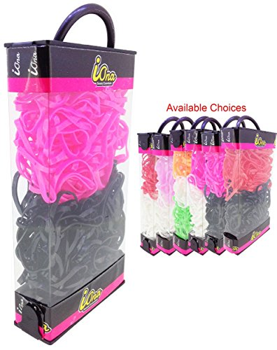 iOna Beauty Essentials PTSET4G6E Hair Band Rubber Bands Elastics Hairband Ponytailer for Girls  available at amazon for Rs.109