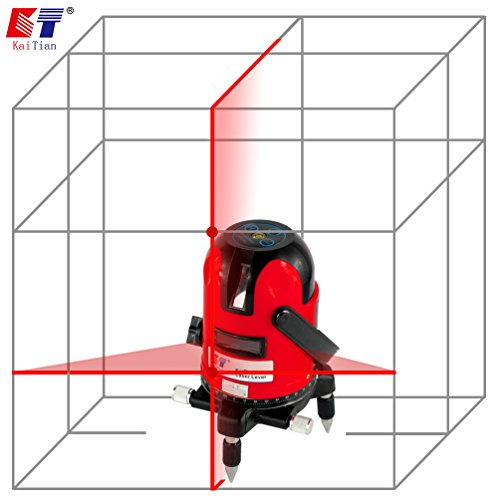 kaitian-red-rotary-lasers-dual-beam-laser-level-horizontal-and-vertical-line-laser