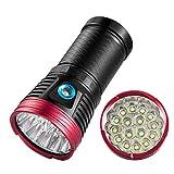 12000 lumen super helle led taschenlampe high power 16xt6 taktische taschenlampe windFire tragbare militärische taschenlampe für wandern camping und notfall