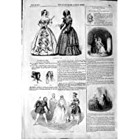 Teatro di Drury del Cappuccio del Cofano dei Cappelli del Modo di 1844 (Cappelli Vittoriani Per Le Donne)