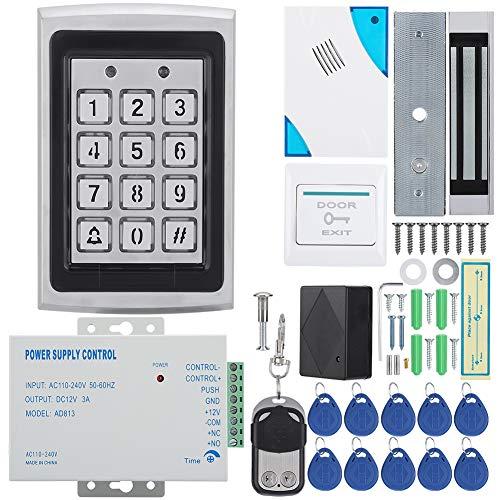 Door Access Control System Scheda di controllo accessi Password Door  Security System Kit porta singola serratura magnetica IP/TCP RFID Tastiera  porta