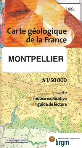 Carte géologique : Montpellier