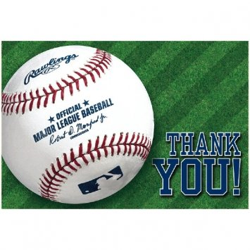 rawling-baseball-thank-you-card-set-of-24-by-party-explosions