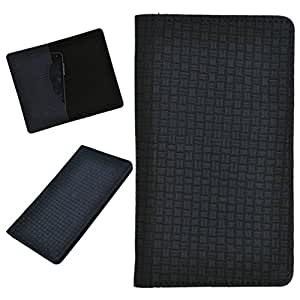 DCR Pu Leather case cover for Videocon A53 (black)